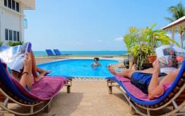 Pool 2 relaxation Health Oasis Resort