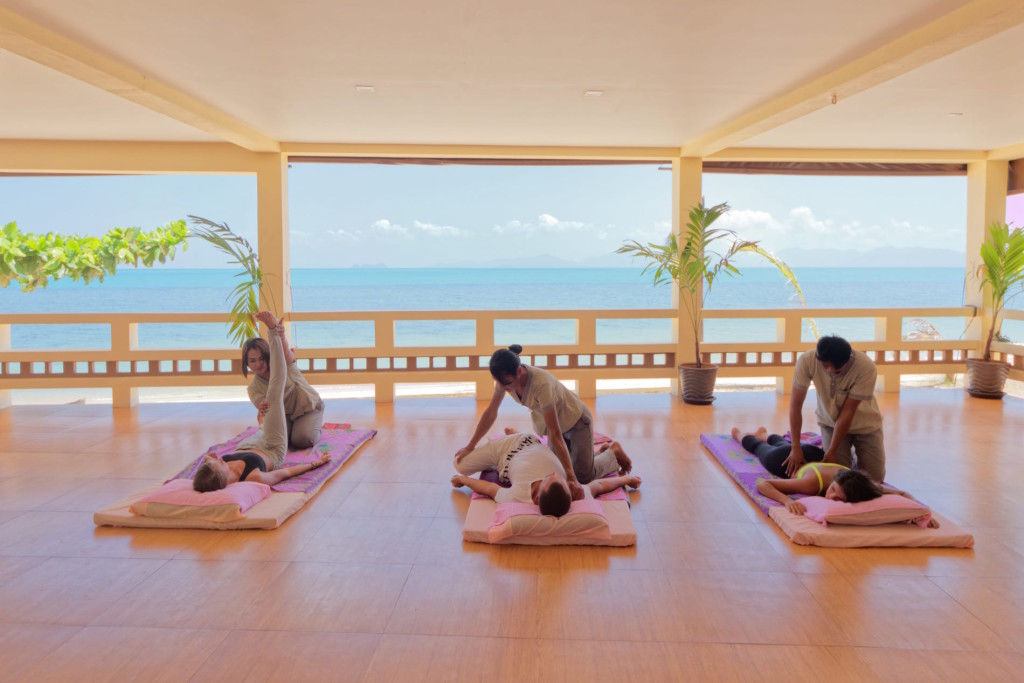 Thai massage detox spa resort samui
