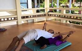 Thai massage detox program