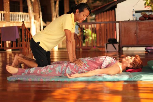 Daily massage Detox Health Oasis Resort
