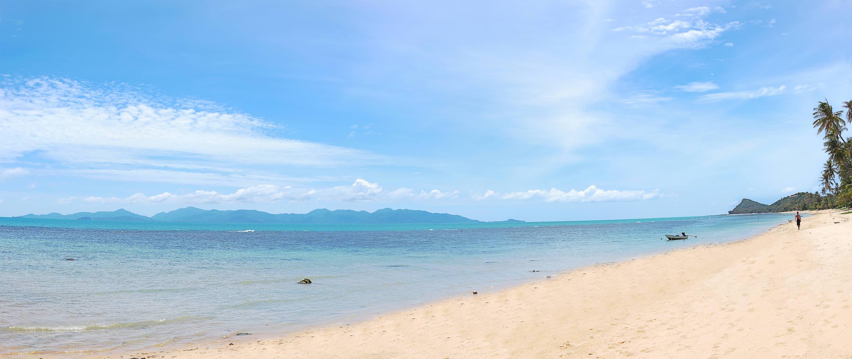 Ocean beachfront location detox spa samui